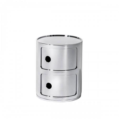 [Kartell/카르텔] Componibili Ø 32 cm metal 정리함 S // [3월입고] 콤포니빌리 Ø 32 cm 메탈 정리함 S