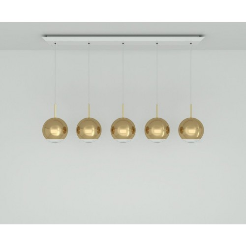 [Tom Dixon/톰딕슨] Mirror Ball 25cm Linear Pendant System // 미러 볼 25cm 리니어 펜던트 시스템