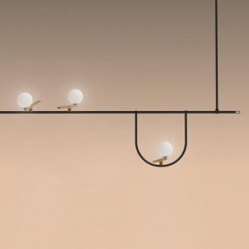 [Artemide/아르테미데] Yanzi suspension Brass