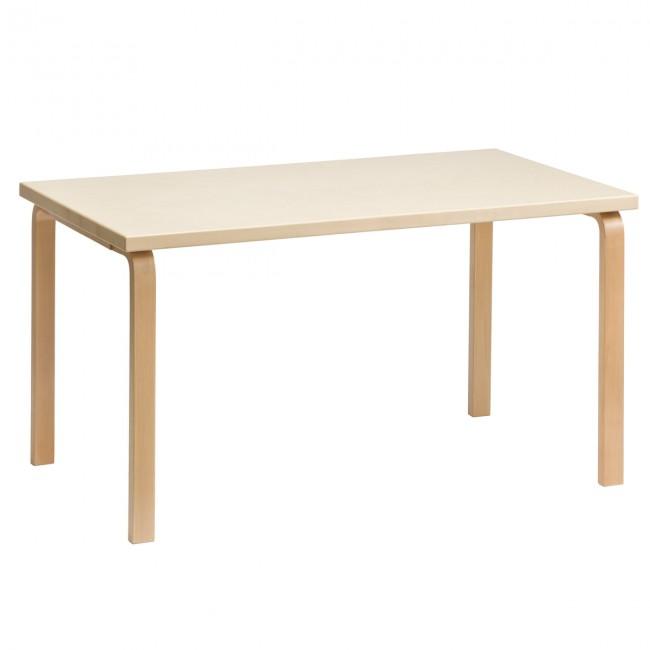 [Artek/아르텍] Aalto rectangular Table 81A (Table top 150 x 75 cm) // 알토 직사각 테이블 81A (테이블 탑 150 x 75 cm)