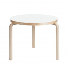 [Artek/아르텍] Aalto Table round 90B (Table top diameter 75 cm)