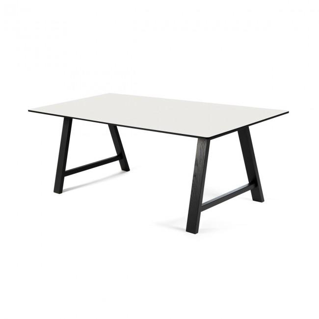 [Andersen Furniture/안데르센] T1 Extendable Table 160 cm Black Lacquer // T1 익스텐더블 테이블 160 cm 블랙 래커