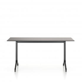 [Vitra/비트라] Belleville dining table outdoor, rectangular, 160 x 75 cm, deep black /black // 벨빌 다이닝 테이블 아웃도어, 직사각, 160 x 75 cm, 딥 블랙 /블랙