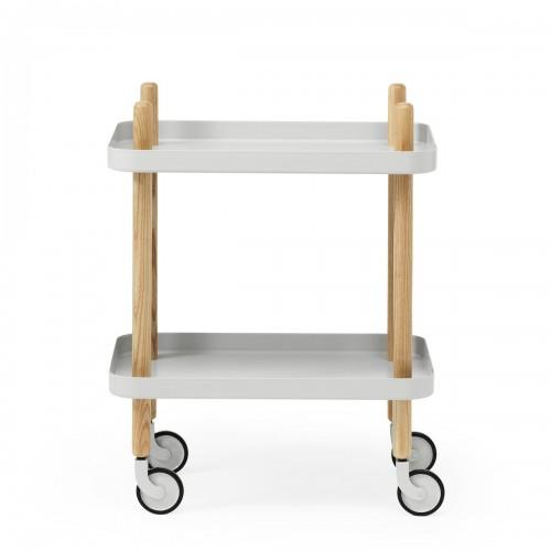 [Normann Copenhagen/노만코펜하겐] Block Table - Light Grey // 블록 테이블 - 라이트 그레이