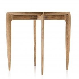 [Fritz Hansen/프리츠한센] Tray Side Table 1958, oak // 트레이 사이드 테이블 1958, 오크