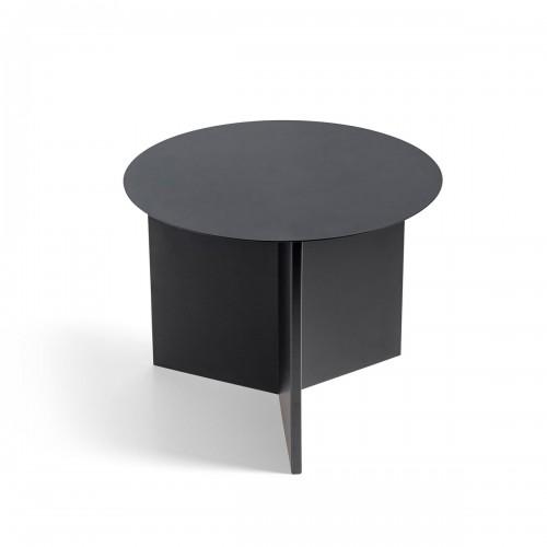 [Hay/헤이] Slit Table Round, Black // 슬릿 테이블 라운드, 블랙