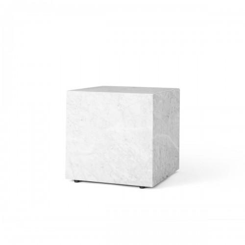 [Menu/메뉴] Plinth Cubic Side Table White // 플린스 큐빅 사이드 테이블 화이트