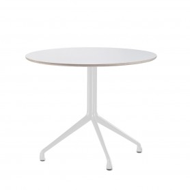 [Hay/헤이] About A Table AAT 20 Bistro Table, Ø80 x H73 cm, white // 어바웃 어 테이블 AAT 20 비스트로 테이블, Ø80 x H73 cm, 화이트