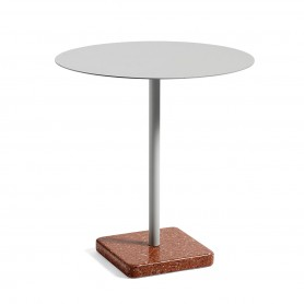 [Hay/헤이] Terrazzo Table round Ø 70cm - Sky Grey // 테라조 테이블 라운드 Ø 70cm - Sky Grey