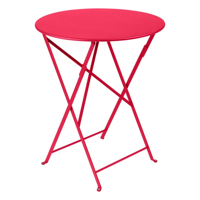 [Fermob/페르몹] Bistro Folding Table Ø 60 cm - Pink Praline // 비스트로 폴딩 테이블 Ø 60 cm