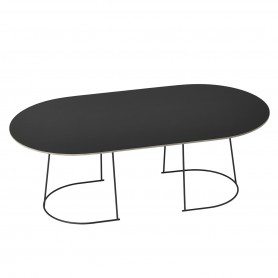 [Muuto/무토] Airy Coffee Table, large, black
