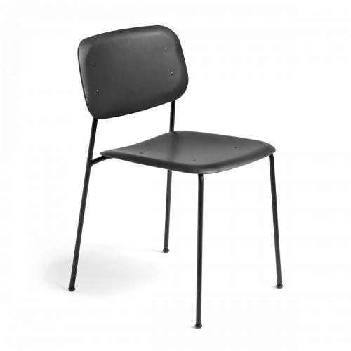 [Hay/헤이] Soft Edge Chair P10 Chair, Black // 소프트 엣지 체어 P10 체어, 블랙