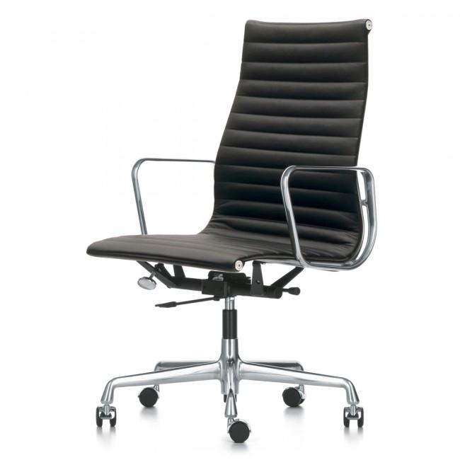 [Vitra/비트라] Aluminium Group EA 119 Office Chair Leather // 알루미늄 그룹 EA 119 오피스 체어 래더