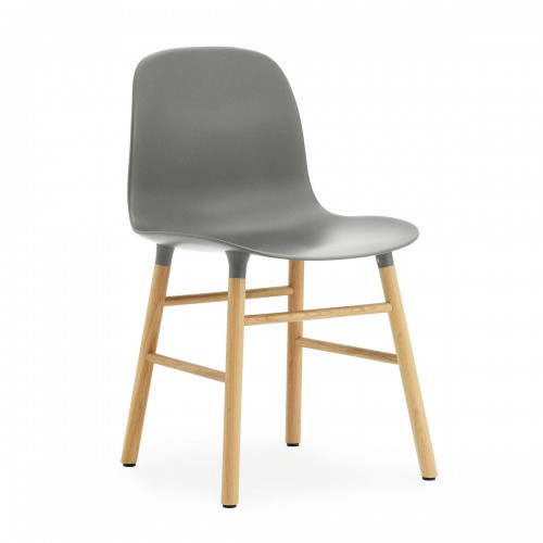 [Normann Copenhagen/노만코펜하겐] Form Chair Oak - Grey // 폼 체어 오크 - Grey