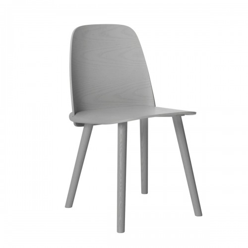 [Muuto/무토] Nerd Chair - Grey // 너드 체어 - Grey