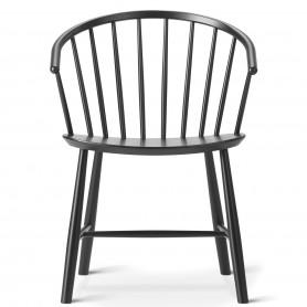 [Fredericia/프레데리시아] J64 Chair, Black Beech // J64 체어, 블랙 Beech