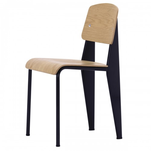 [Vitra/비트라] Prouve Standard Chair - 10 natural oak // 프루베 스탠다드 체어 - 10 natural oak