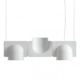 [Fontana Arte/폰타나아르테] Igloo 3 (2 DOWN/1 UP) Light grey (colors)