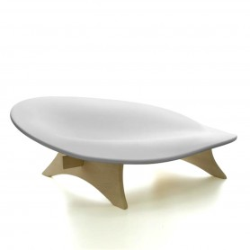 [Danese Milano/다네제 밀라노] Cocoa seating object, white