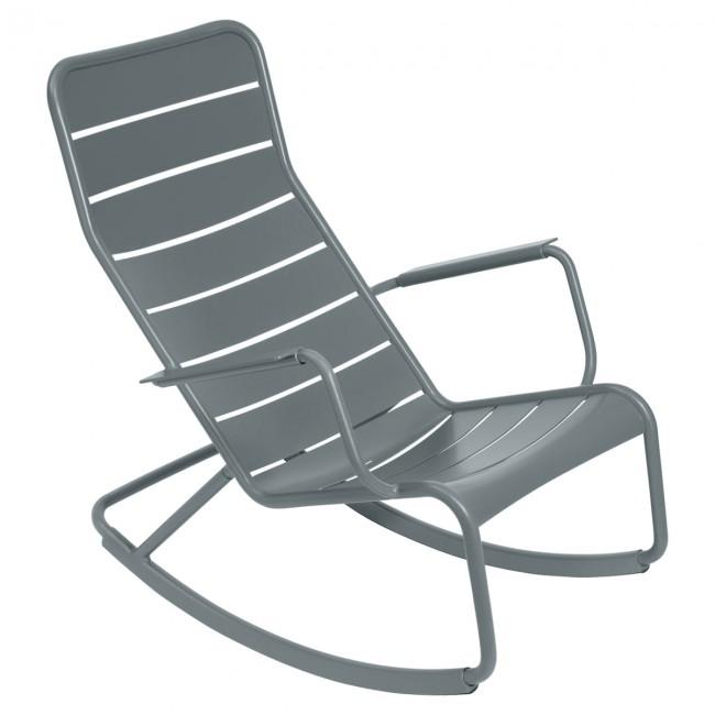 [Fermob/페르몹] Luxembourg Rocking Chair Stormy Grey // 룩셈부르크 락킹 체어 스토미 그레이