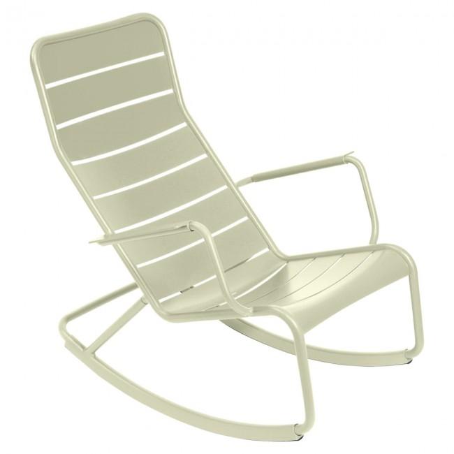 [Fermob/페르몹] Luxembourg Rocking Chair Lime Green // 룩셈부르크 락킹 체어 라임 그린