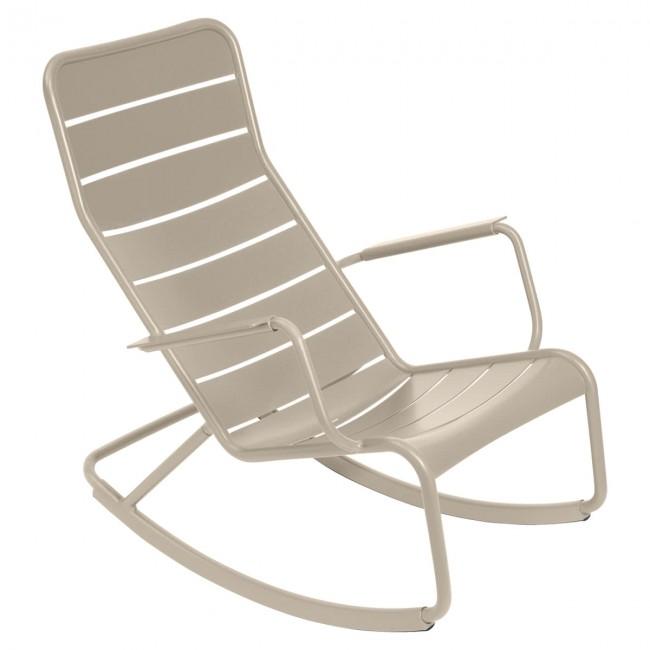 [Fermob/페르몹] Luxembourg Rocking Chair Muscade // 룩셈부르크 락킹 체어 미스카드