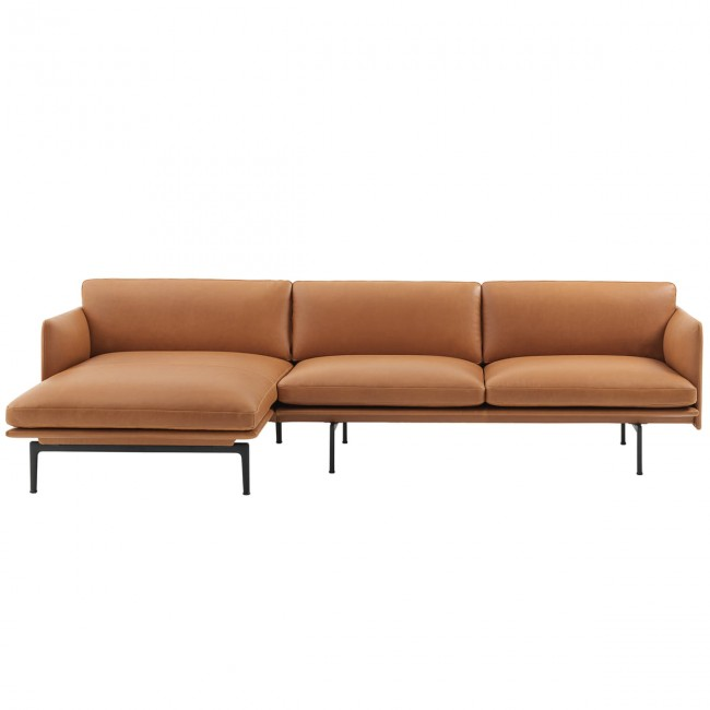 [Muuto/무토] Outline Chaise Longue Sofa left