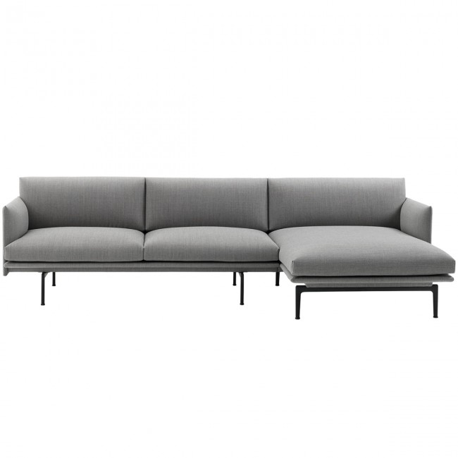 [Muuto/무토] Outline Chaise Longue Sofa right