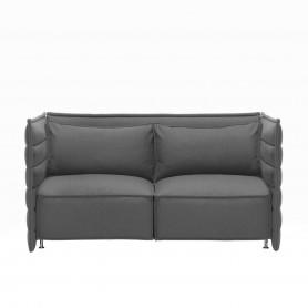 [Vitra/비트라] Alcove Plume Sofa, 2 seats, Laser dark grey