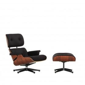 [Vitra/비트라] Lounge Chair & Ottomann, Santos rosewood, black twill (Limited Edition) // 라운지체어 & 오토만, 산토스 로즈우드, 블랙 트윌 (리미티드 에디션)