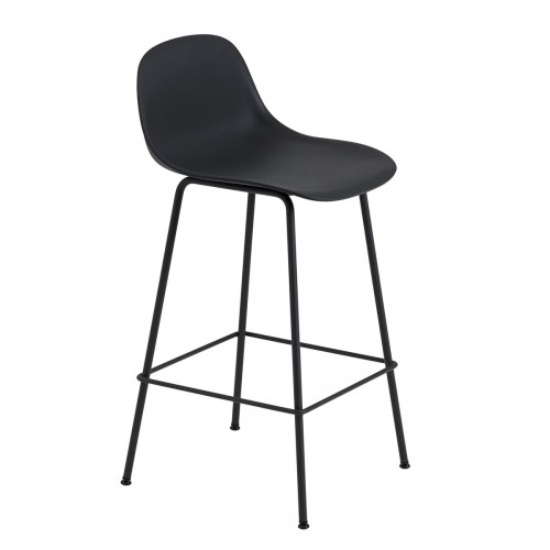 [Muuto/무토] Fiber Bar Stool with Backrest / Metal Base