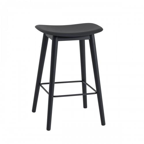 [Muuto/무토] Fiber Counter Stool / Wood Base 65cm // 파이버 카운터 스툴 / 우드 베이스 65cm