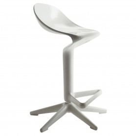 [Kartell/카르텔] Spoon Bar Stool, white
