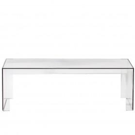 [Kartell/카르텔] Invisible Side 120 x 40 x 40 cm, crystal clear // 인비저블 사이드 120 x 40 x 40 cm, 크리스탈 클리어