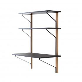 [Artek/아르텍] Kaari Wall Shelf with Desk 100 x 55 cm // 카아리 월 쉘프 위드 데스크 100 x 55 cm