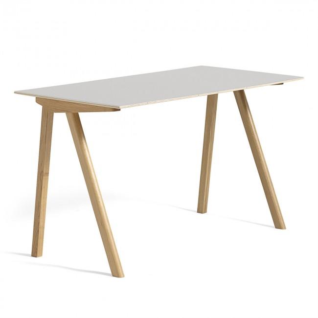 [HAY/헤이] Copenhague CPH90 Desk Water-based Lacquered Oak - Off White // 코펜하게 CPH90 데스크 오크 - 화이트