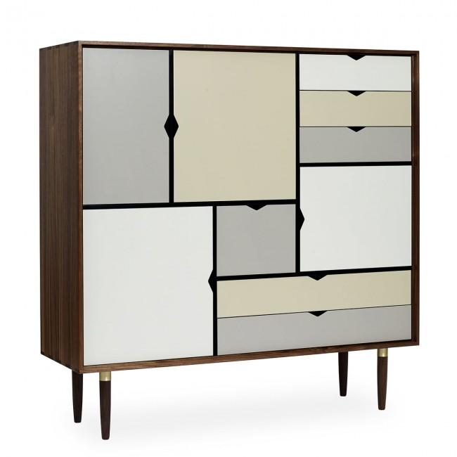 [Andersen Furniture/안데르센] S3 Sideboard, mulitcoloured Walnat // S3 사이드보드 (멀티컬러) 월넛