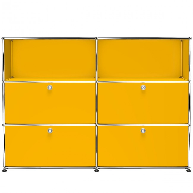 [USM Haller] Highboard With 4 Falling Boards