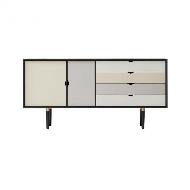 [Andersen Furniture/안데르센] S6 Sideboard (multicoloured) Black Lacquered // S6 사이드보드 (멀티컬러) 블랙 래커드