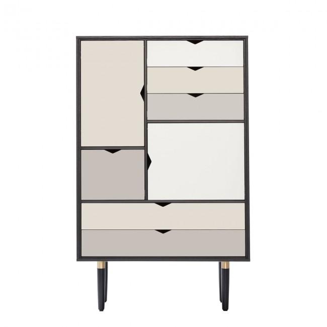 [Andersen Furniture/안데르센] S5 Storage Unit (multicoloured) Black Lacquered // S5 스토리지 유닛 (멀티컬러) 블랙 래커드
