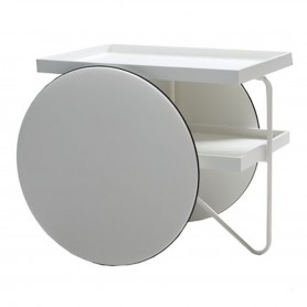 [Casamania/까사마니아] Chariot Mobile Table, white // Chariot 모빌 테이블, 화이트