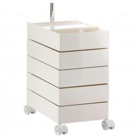 [Magis/마지스] 360° Container, 5 drawers, white // 360° 컨테이너, 5 드로어, 화이트