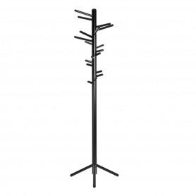 [Artek/아르텍] Clothes tree 160, birch black lacquered, metal foot black lacquered // Clothes 트리 160, 버치 블랙 래커, 메탈 풋 블랙 래커
