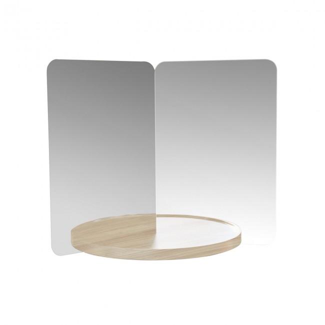 [Artek/아르텍] 124° Mirror with shelf medium // 124° 미러 위드 쉘프 미디움