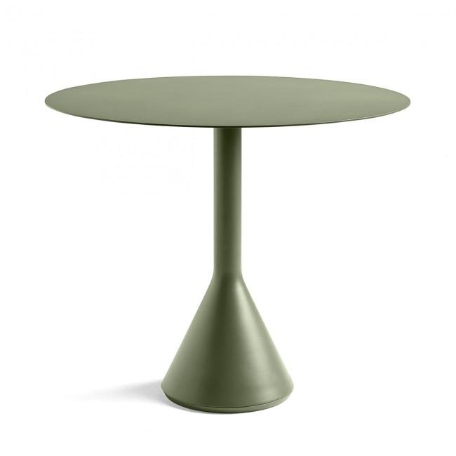 [HAY/헤이] Palissade Cone table Ø 90 - Olive // 팔리사드 콘 테이블 Ø 90 - Olive
