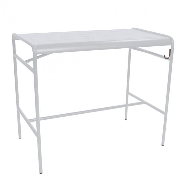 [Fermob/페르몹] Luxembourg High Table 73 x 126 cm Cotton White // 룩셈부르크 하이 테이블 73 x 126 cm 코튼 화이트