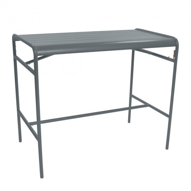 [Fermob/페르몹] Luxembourg High Table 73 x 126 cm Stormy Grey // 룩셈부르크 하이 테이블 73 x 126 cm 스토미 그레이