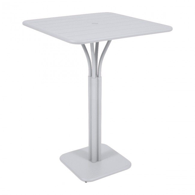 [Fermob/페르몹] Luxembourg Bar Table 80 x 80 cm Cotton White // 룩셈부르크 바 테이블 80 x 80 cm 코튼 화이트
