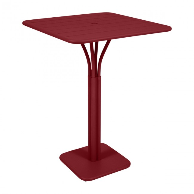 [Fermob/페르몹] Luxembourg Bar Table 80 x 80 cm Chili // 룩셈부르크 바 테이블 80 x 80 cm 칠리