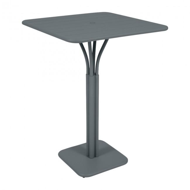 [Fermob/페르몹] Luxembourg Bar Table 80 x 80 cm Stormy Grey // 룩셈부르크 바 테이블 80 x 80 cm 스토미 그레이